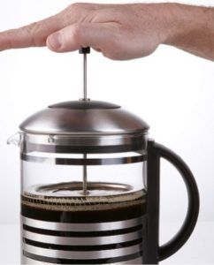 Systeme French Press Cafetiere A Piston
